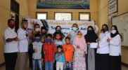 Salurkan Bantuan untuk Anak Yatim Piatu, Baznas Bojonegoro Gandeng Sekretariat DPRD, Dinas Lingkungan Hidup (DLH), dan Inspektorat