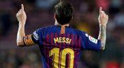 Lionel Messi Kembali Latihan