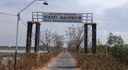 Jalan menuju ke tempat 'perawan gurih'. Foto: Nadia/Progresnews.id.