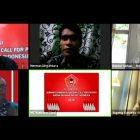 Video Conference (Vidcon) Seminar Pembangunan dan Call For Paper yang digelar Ikatan Sarjana Rakyat Indonesia (ISRI), Minggu 18 Oktober 2020.