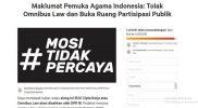 Fraksi Rakyat Indonesia Sebar Petisi Tolak UU Cipta Kerja, 1.400.000 Orang Telah Bertanda Tangan.