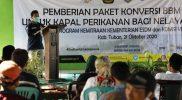 Nelayan di Tuban Terima Bantuan Konverter Kit Dari Kementerian ESDM