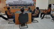 KPU Gresik Berikan Legalitas Pada Lembaga Pemantau Pemilu
