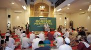 Kemenag Gresik Bersama Syeikh Ali Jaber Launching 'Gresik Menghafal' di Muhajirin Center, Kamis, 15 Oktober 2020. Foto: Nufus/Progresnews.id.