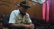 Pelaksana Harian Camat Glagah saat memberikan keterangan. Foto: Ammy/Progresnews.id.