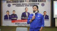 Wakil Sekjen DPN Bintang Muda Indonesia Aditiya Utama. Foto: FEB/Progresnews.id.