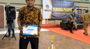 Mochammad Afriizal Fariz memenangkan Trofi Pemuda Pelopor Gresik 2020.
