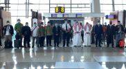 Pelepasan Umrah perdana oleh Dubes Saudi Arabia dan DPP AMPHURI, pada Ahad (1/11/2020), Foto: amphuri.org