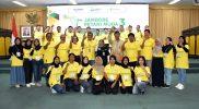 Foto bersama peserta Jambore Petani Muda III yang digelar oleh Petrokimia Gresik di Universitas Gadjah Mada Yogyakarta pada 25 September 2019. Foto: Edri/Humas Petrokimia Gresik.