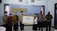 BPS Tuban Deklarasikan Zona Integritas, Kamis (3/12). Foto: Ans/Progresnews.id.