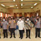 Bupati Lamongan, Fadeli saat menghadiri FSK di Grand Hotel Mahkota, Foto: Nasih/Progresnews.id