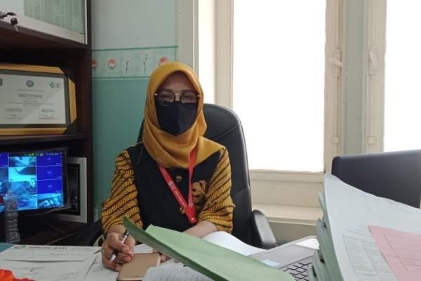 Juru bicara Satgas Covid-19 Kabupaten Tuban, Endah Nurul Komarijati. Foto: Progresnews.id/Ans