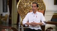 Presiden Joko Widodo menyampaikan bahwa vaksin Covid-19 adalah gratis untuk masyarakat.
