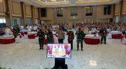 Rapat koordinasi Operasi Lilin Semeru 2020 di Mapolda Jatim, Selasa (15/12).