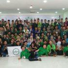 Foto bersama anggota BEM PTNU Se-Nusantara saat seminat nasional.
