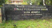 Kantor DPU Bina Marga Lamongan. Foto: Ammy.