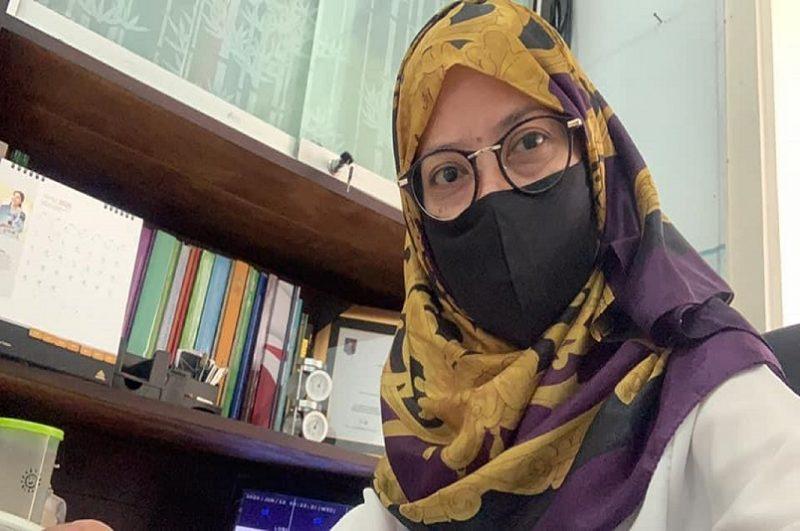 Endah Nurul K, dari Dinas Kesehatan Kabupaten Tuban. Foto: Progresnews.id/Ans