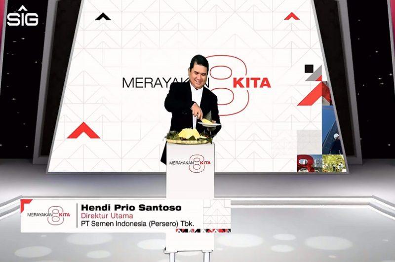 Hendi Prio Santoso Dirut PT Semen Indonesia. Foto: Ans