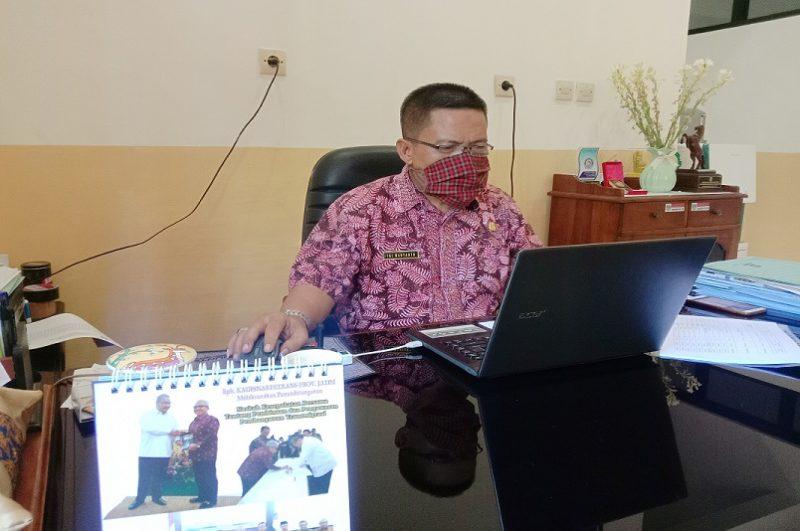 Kepala UPT BLK Kabupaten Tuban, Tri Wahyanto. Foto: Progresnews.id/Ans