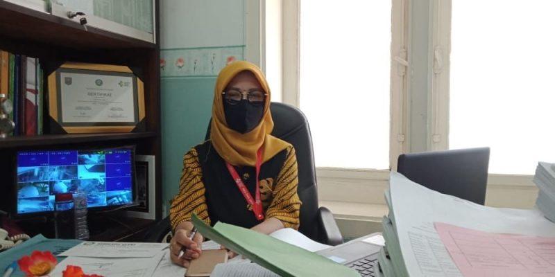 Jubir Satgas Covid-19 Kabupaten Tuban, Endah Nurul Komarijati. Foto: Progresnews.id/ Ans