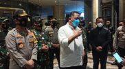 Forkopimda Jawa Timur bersama Forkopimda Pemkot Surabaya, didampingi Kapolda Jatim dan Pangdam V Brawijaya