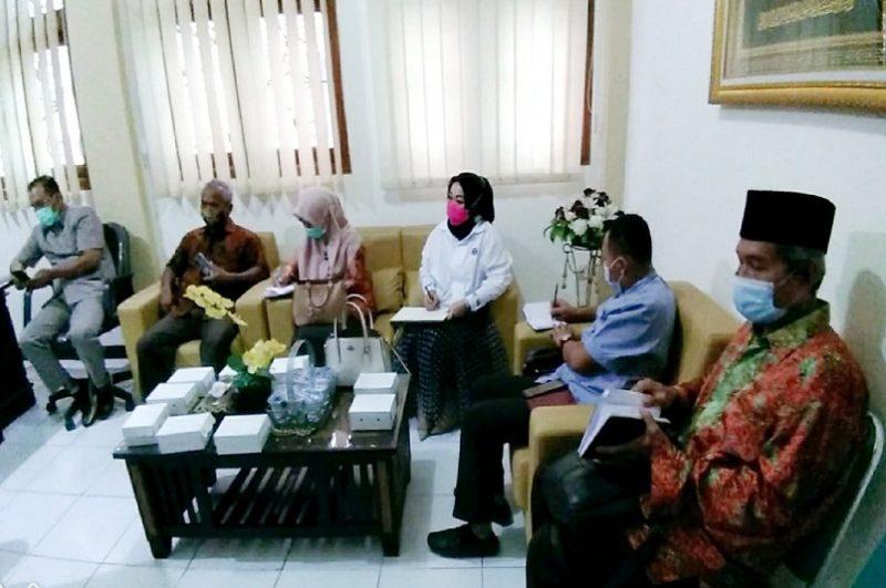 Bahas Bansos, Komisi IV DPRD Kabupaten Tuban Kunjungi Dinsos P3A. Foto: Progresnews.id/Ans