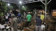 Operasi yustisi yang dilaksanakan aparat gabungan di Tuban, Sabtu (30/1).