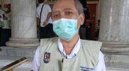 Sekretaris Daerah Kabupaten Tuban, Budi Wiyana saat ditemui usai mengikuti vaksinasi tahap pertama, Rabu (27/1).