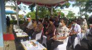 Pencanangan dan Vaksinasi pertama di Bojonegoro dilaksanakan di RSUD Sosodoro Djatikoesoemo, Kamis 28/1). Foto: Suhaili Fawwaz.