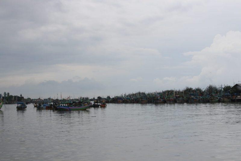 Kondisi terkini Pelabuhan Perikanan Nusantara Brondong, Lamongan. Foto : Istimewa