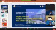 Forum Konsultasi Publik Rancangan RKPD Bappeda Gresik. Foto: Youtube Bappeda Gresik.