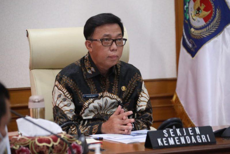 Sekjend Kemendagri Dr. Ir. Muhammad Hudori, M.Si. Foto: Kemendagri.