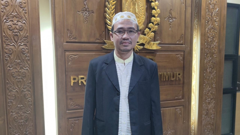 Anggota DPRD Jatim, Muhammad Bin Muafi Zaini ditemui di DPRD Jatim. Foto: Kominfo Jatim.