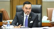 Wakil Ketua Komisi III DPR, Ahmad Sahroni menyambut baik langkah Kapolri Listyo Sigit untuk lebih selektif dalam merespons pelaporan terkait UU ITE, Selasa (16/2). Foto: dpr.go.id