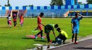 Para pemain seusai mengikuti seleksi yang digelar Askab PSSI Lamongan. Foto: Istimewa.