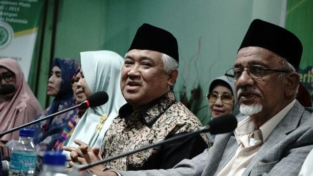 Mantan Ketua PP. Muhammadiyah, Din Syamsuddin dilaporkan GAR-ITB ke Komisi Aparatur Sipil Negara atas dugaan radikalisme. Foto: Kumparan.