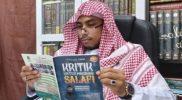Ustadz Maaher At-Thuwailibi meninggal dunia. Foto: Twitter @ustadzmaaher.