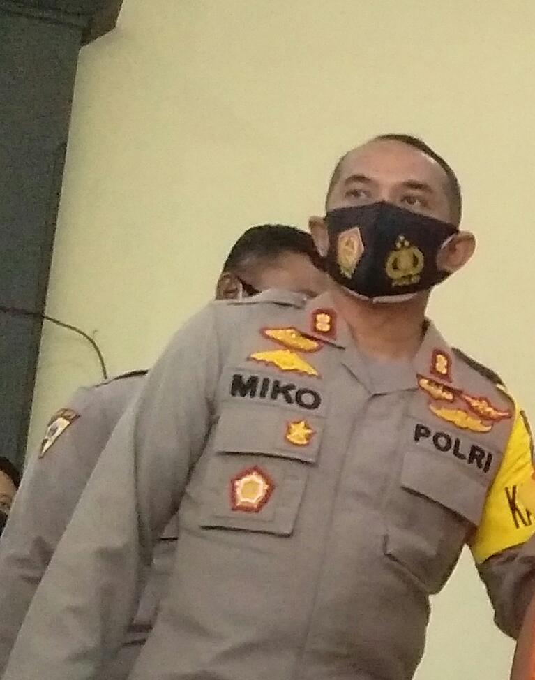 AKBP Miko Indrayana, Kapolres Lamongan.