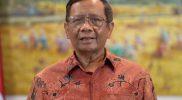 Melalui cuitannya, Menkopolhukam tegaskan pemerintah tak akan memproses laporan terkait tuduhan radikalisme terhadap Din Syamsuddin, Sabtu (13/2). Foto: Sekretariat Presiden.