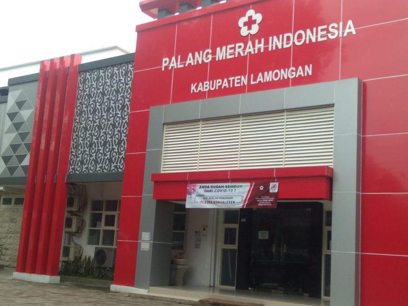 Kantor PMI Lamongan. Foto: Ammy/Progresnews.id.