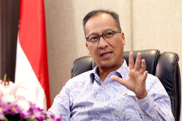 Menteri Perdagangan, Agus Gumiwang menyampaikan Presiden Joko Widodo telah menyetujui rencana relaksasi penjualan barang mewah sepanjang tahun 2021, Sabtu (13/2). Foto: kompastv.