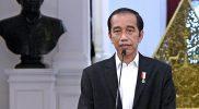 Presiden Joko Widodo membuka peluang revisi pasal karet UU ITE saat menghadiri rapat pimpinan TNI-Polri, Senin (15/2). Foto: Kompas.