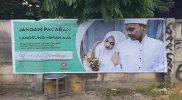 Poster promosi Aisha Weddings. Foto: Twitter/Sweta Kartika.