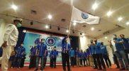 Suasana deklarasi dan pelantikan organisasi sayap Partai Demokrat Bintang Muda Indonesia (BMI) Jawa Tengah. Foto: adv.