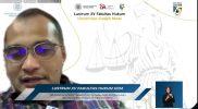 Wamenkumham, Edward Omar Sharif Hiariej menilai dua mantan menteri yang tersandung kasus korupsi layak dituntut hukuman mati, Selasa (16/2). Foto: tangkapan layar kanal Pengetahuan FH UGM.