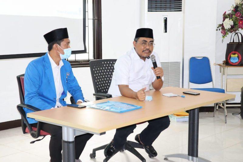 Gus Jazil, sebagai narasumber dalam Pelatihan Kader Lanjut (PKL) Pengurus Cabang Pergerakan Mahasiswa Islam Indonesia (PMII) Jakarta Selatan