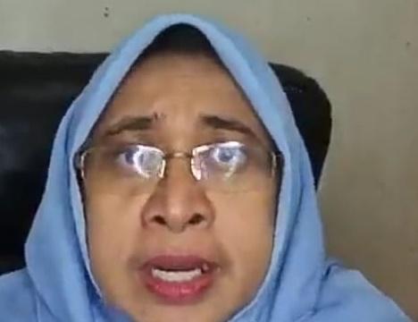 Rahmawati Husein, Wakil Ketua MDMC dalam Talkshow live via Beritabaru.co Program BERCERITA: Ketahanan Perempuan Menghadapi Bencana Ekologis, Selasa (30/3)