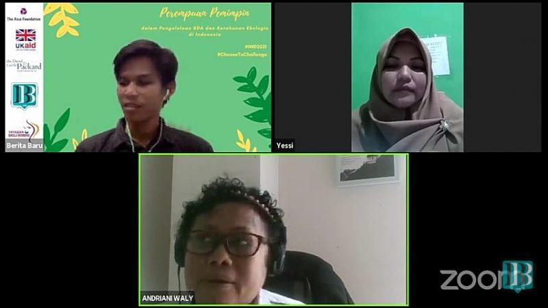Andriani Salman Wally dan Yessi dalam Podcast Perspektif Beritabaru.co
