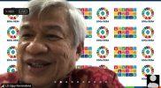 """Leroy Samy Uguy memberikan tanggapan atas testimoni para perempuan pemimpin dalam webinar """"Memperkuat Kepemimpinan Perempuan dalam Pengelolaan SDA dan Ketahanan Ekologis di Indonesia"""", Kamis (25/3)."""