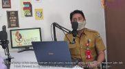 Kepala Dinas Pemberdayaan Perempuan dan Perlindungan Anak (DP3A) Sulawesi Tengah, Ihsan Basir dalam Podcast Sikola Mombine, Senin (29/3).